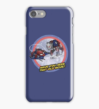 Have you seen that old movie? iPhone Case/Skin