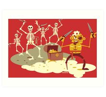 Pirate Cove Art Print