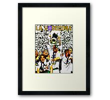 real madrid champions league winner Framed Print