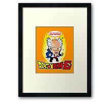 dragon bernie Framed Print
