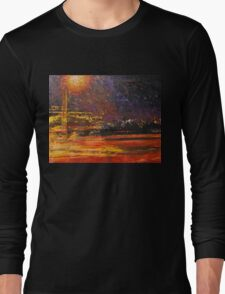 Night's traffic Long Sleeve T-Shirt