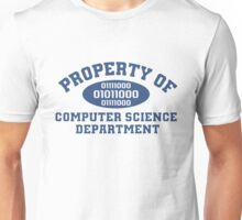 Property Of Computer Science Department T-Shirt Unisex T-Shirt