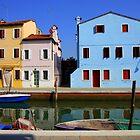 Houses in Burano by annalisa bianchetti