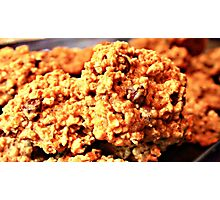 Oatmeal Cookies  Photographic Print