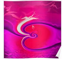 The Way Of Love - Abstract25  Art + Products Design  Poster