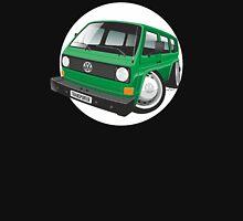 VW T3 bus caricature green Unisex T-Shirt