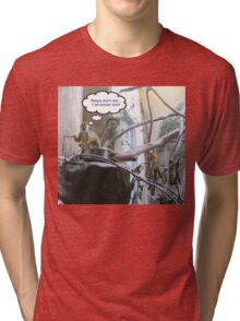 Prison Break! Please Don't Tell Anyone I Am Almost Out! Tri-blend T-Shirt