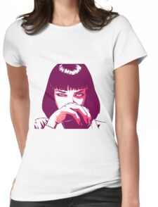 Mia Pink Womens Fitted T-Shirt