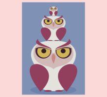 OWLS THREE DEEP One Piece - Short Sleeve