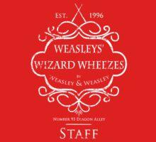 Weasleys' Wizard Wheezes Staff Shirt Purple Baby Tee