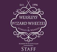 Weasleys' Wizard Wheezes Staff Shirt Purple Unisex T-Shirt