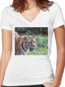 Are You Lunch Women's Fitted V-Neck T-Shirt