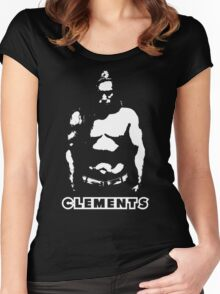Toby Clements 'Clements' Artwork #2 Women's Fitted Scoop T-Shirt