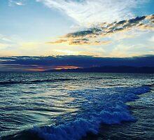 Ocean Sunset by Christiane Johnson
