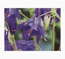 Pretty Pretty Purple Flowers One Piece - Short Sleeve