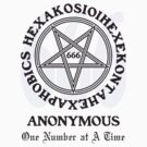 666 Anonymous (b) by GUS3141592
