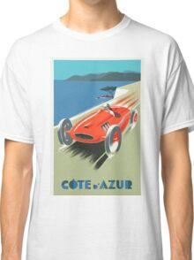 Côte d'Azur / French Riviera Vintage Travel Poster Classic T-Shirt