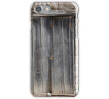 Wood Door in an Adobe Wall iPhone Case/Skin