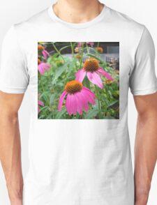 Vibrant Purple Coneflower Unisex T-Shirt