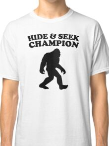 Bigfoot Hide And Seek Champion Classic T-Shirt