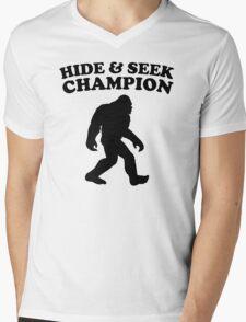 Bigfoot Hide And Seek Champion Mens V-Neck T-Shirt
