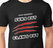 Toby Clements 'Suns Out Claws Out' Artwork #3 Unisex T-Shirt