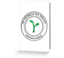 Seal Of Murray Greeting Card