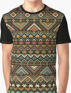 INDIANS VERSUS ALIENS (VARIANT) Graphic T-Shirt