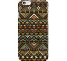 INDIANS VERSUS ALIENS (VARIANT) iPhone Case/Skin