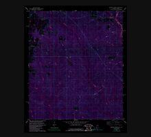 USGS TOPO Map Alabama AL Dogwood Creek 303681 1978 24000 Inverted Unisex T-Shirt