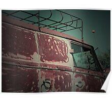 Rat Look VW Split Screen (Splitty) Van Image Poster