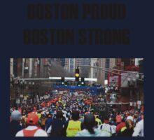Boston Marathon Boston Strong Baby Tee