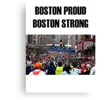 Boston Marathon Boston Strong Canvas Print