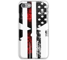 Punisher Red line 2016 iPhone Case/Skin