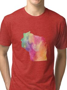 Wisconsin Tri-blend T-Shirt