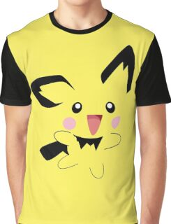 Pichu Minimal (Pokemon) Graphic T-Shirt
