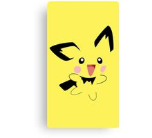 Michu Minimal (Pokemon) Canvas Print