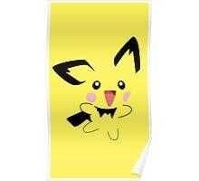 Michu Minimal (Pokemon) Poster