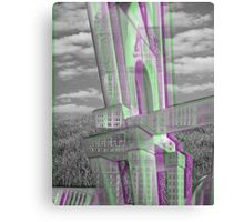 Building Blocks Photoshop  Canvas Print