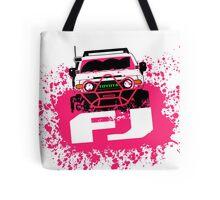 Pink FJ Tote Bag
