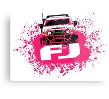 Pink FJ Metal Print