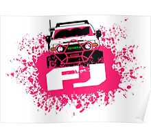 Pink FJ Poster