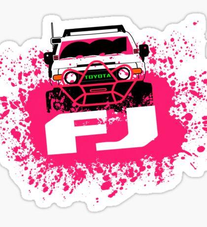 Pink FJ Sticker
