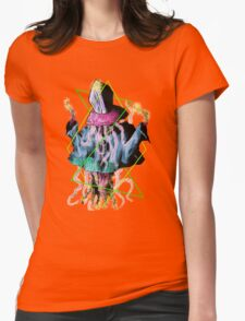 Jellyfish Pope Womens Fitted T-Shirt