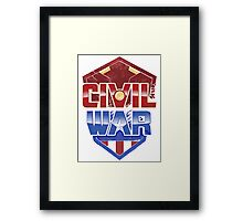 CIVIL WAR Framed Print