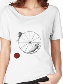 Dilemma; snail has the upper hand Women's Relaxed Fit T-Shirt