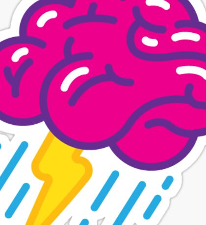 Brainstorm Sticker