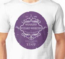 Weasleys' Wizard Wheezes Staff Purple Variation Unisex T-Shirt