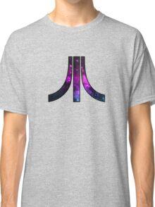 A retro Atari symbol with a cosmic twist Classic T-Shirt