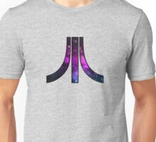 A retro Atari symbol with a cosmic twist Unisex T-Shirt